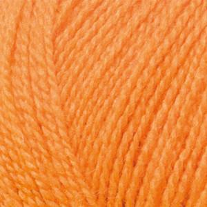 Järbo Mellanraggi Garn Unicolor 28203 Oransje