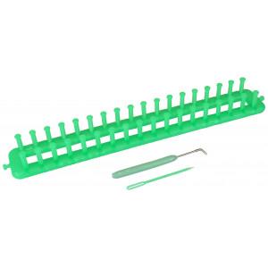 Strikkering / Knitting ring Avlang - 38 cm Ass. farger