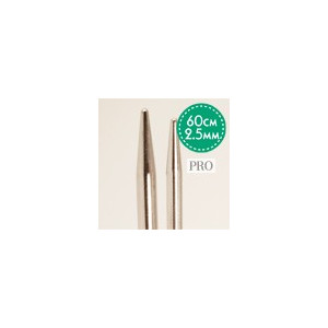 Drops Pro Rundpinner Messing 60cm 2.50mm / 23.6in US1½