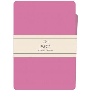 Go handmade Fat quarter / Patchworkstoff Bomull Pink - 47x55cm