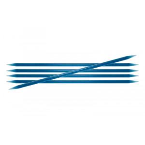 KnitPro Trendz Strømpepinner Akryl 15cm 5,50mm / 5.9in US9 Turquoise