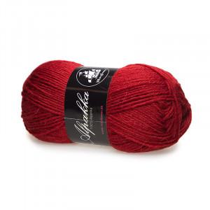 Mayflower Alpakka Garn Unicolor 20 Rød