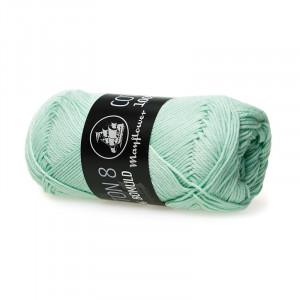 Mayflower Cotton 8/4 Garn Unicolor 1453 Pastellgrønn
