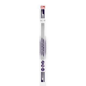 Prym Ergonomics Strikkepinner / Jumperpinner Plast 35cm 5,00mm / 13.8in US8