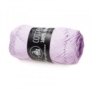 Mayflower Cotton 8/4 Garn Unicolor 1451 Lys Lilla