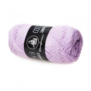 Mayflower Cotton 8/4 Garn Unicolor 1452 Pastellilla