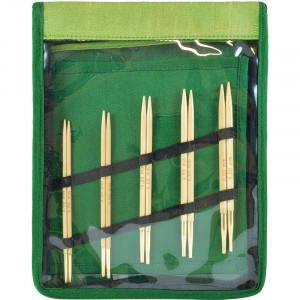 Järbo Bambu Utskiftbare rundpinnesett Bambus 60-100cm 3-5mm 5 størrelser