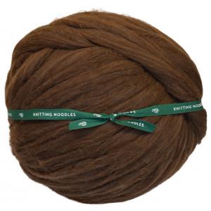 Knitting Noodles Ovilla Lana Grande Kjempe Garn Mørk Brun