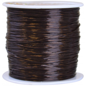 Strikksnor Brun 0,8 mm 10 m