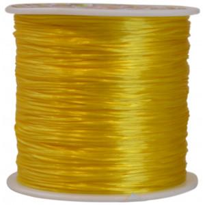 Strikksnor Gul 0,8 mm 10 m