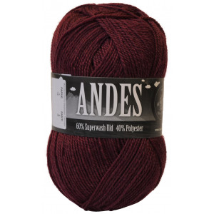 Mayflower Andes Garn Unicolor 06 Bordeaux