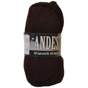 Mayflower Andes Garn Mix 28 Bordeauxrød