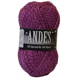 Mayflower Andes Garn Mouline 33 Cerise/Rosa