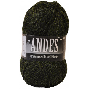 Mayflower Andes Garn Mix 35 Kamuflasje