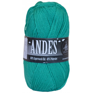 Mayflower Andes Garn Unicolor 38 Opalgrønn
