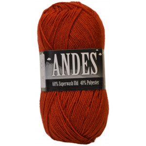 Mayflower Andes Garn Unicolor 42 Rust