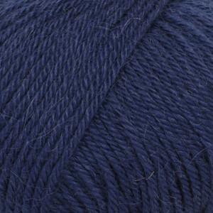 Drops Puna Garn Unicolor 13 Marine Blå