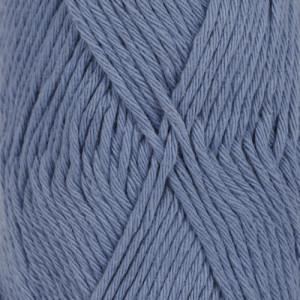 Drops Loves You 8 Garn Unicolor 07 Jeansblå