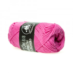Mayflower Cotton 8/8 Big Garn Unicolor 610 Pink