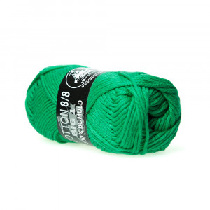 Mayflower Cotton 8/8 Big Garn Unicolor 627 Grønn