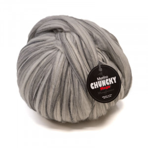 Mayflower Mega Chunky Kjempe Garn Unicolor 1004 Grå