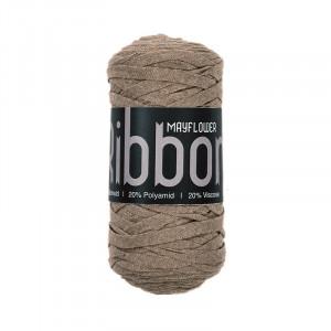 Mayflower Ribbon Stoffgarn Unicolor 112 Beige
