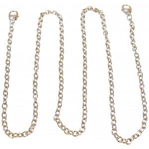 Infinity Hearts Veskehank / Kjede Sølv 122cm - 1 stk