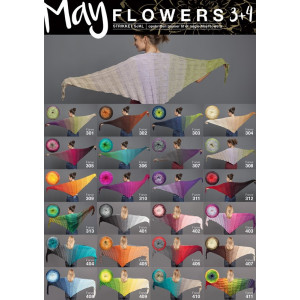 Mayflowers Strikket Sjal - Sjal Strikkeoppskrift