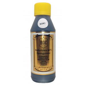 Latex Gummimelk Sort / Svart 250ml til bl.a. sklisikre såler, tepper o.l.