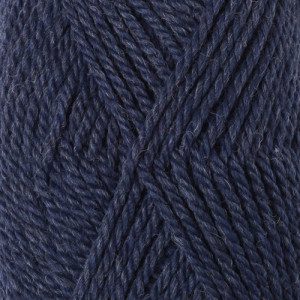 Drops Alaska Garn Unicolor 12 Marineblå