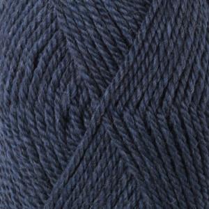 Drops Alaska Garn Unicolor 37 Gråblå
