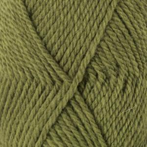 Drops Alaska Garn Unicolor 45 Lys Oliven