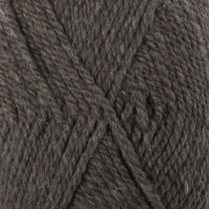Drops Alaska Garn Mix 50 Mørkebrun Meleret