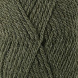 Drops Alaska Garn Unicolor 51 Olivenmelert