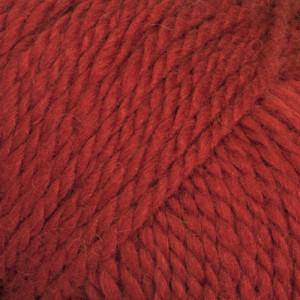 Drops Andes Garn Unicolor 3620 Julerød