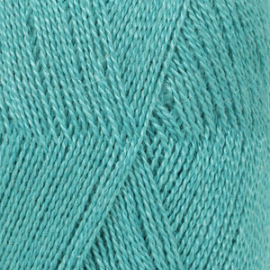 Drops Lace Garn Unicolor 6410 Turkis 50g