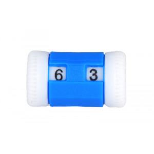 Knitpro Omgangsteller / Pinneteller Blå 2-5mm - 1 stk
