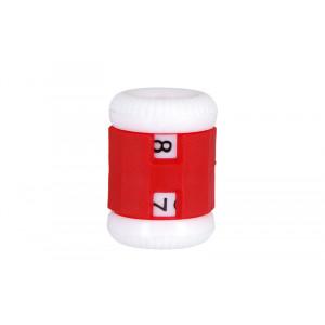 Knitpro Omgangsteller / Pinneteller Rød 4,50-6,50mm - 1 stk