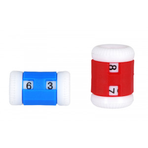 Knitpro Omgangsteller / Pinneteller 2,00-6,50mm - 2 stk