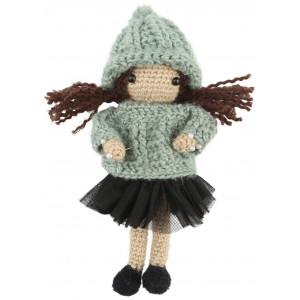 Go handmade Heklekit Dukken Paula 20 cm
