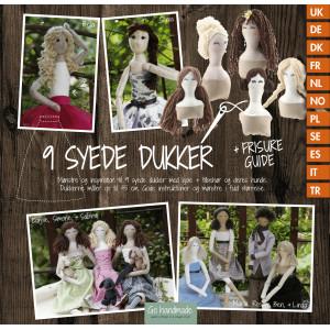 9 Stitched Dolls - Bok fra Go Handmade