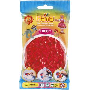 Hama Midi Perler 207-05 Rød - 1000 stk
