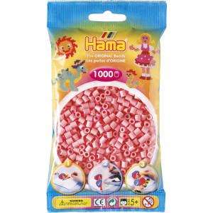 Hama Midi Perler 207-06 Rosa - 1000 stk