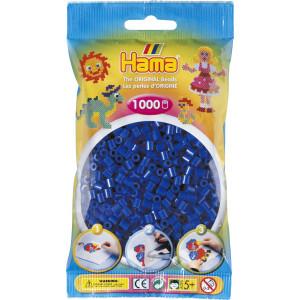 Hama Midi Perler 207-08 Blå - 1000 stk