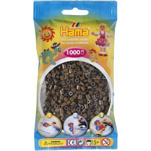 Hama Midi Perler 207-12 Brun - 1000 stk