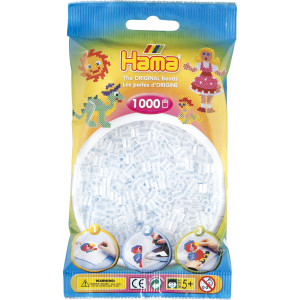 Hama Midi Perler 207-19 Klar - 1000 stk