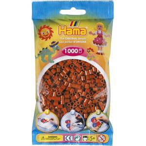 Hama Midi Perler 207-20 Rødbrun - 1000 stk