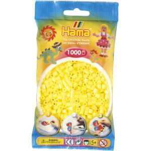 Hama Midi Perler 207-43 Pastell Gul - 1000 stk