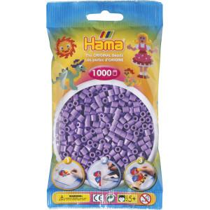 Hama Midi Perler 207-45 Pastell Lilla - 1000 stk