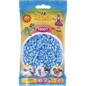 Hama Midi Perler 207-46 Pastell Blå - 1000 stk